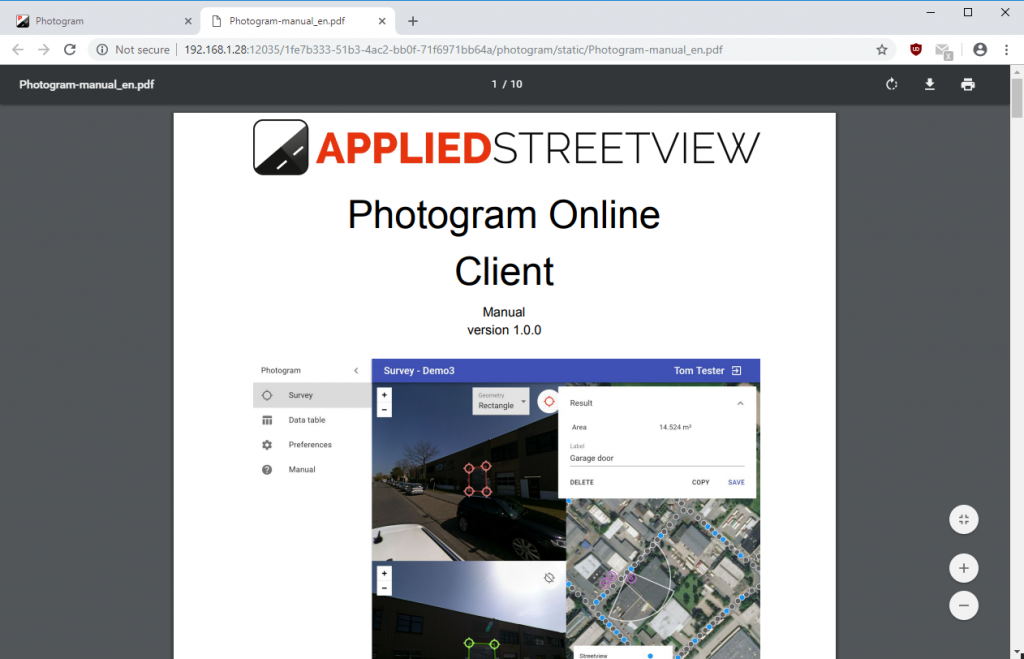 Photogram-Client-Manual